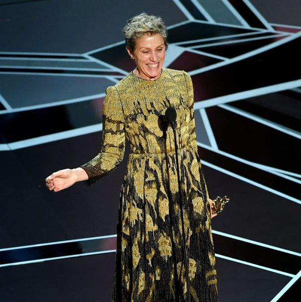 "Oscars 2018: What Frances McDormand Meant When She Said ""Inclusion Rider"""