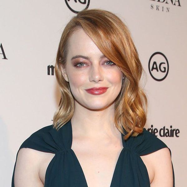 Emma Stone Debuted Her New Perm on the Red Carpet