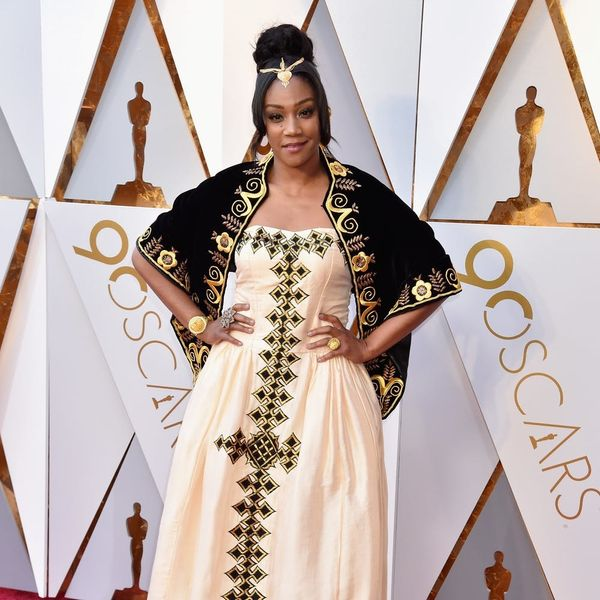 Oscar 2018: The Story Behind Tiffany Haddish's Red Carpet Dress Will Have You in Tears