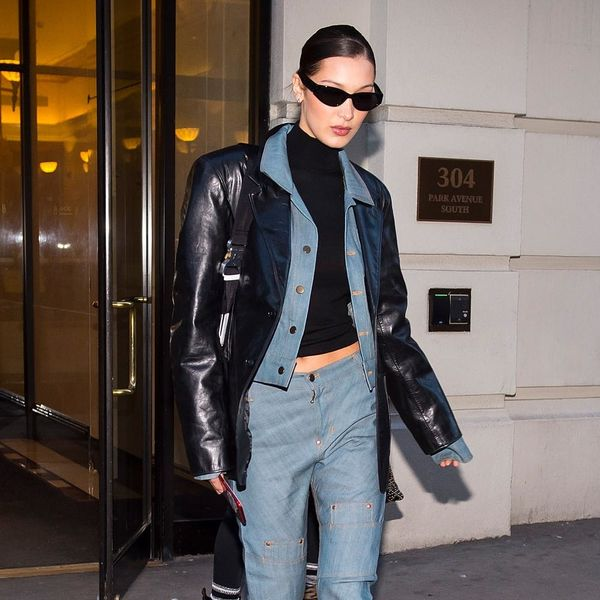 10 Bella Hadid-Approved Leather Jackets to Top Off Your Spring Look