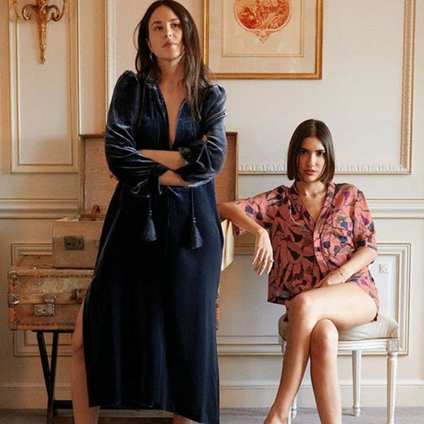 This Parisian-Inspired Collection Is the Loungewear of Our Dreams