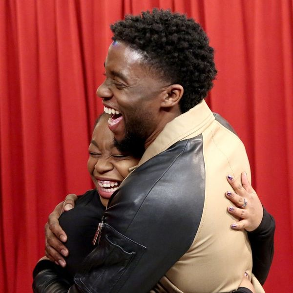 Chadwick Boseman Surprising 'Black Panther' Fans Is the Best Thing You'll See Today