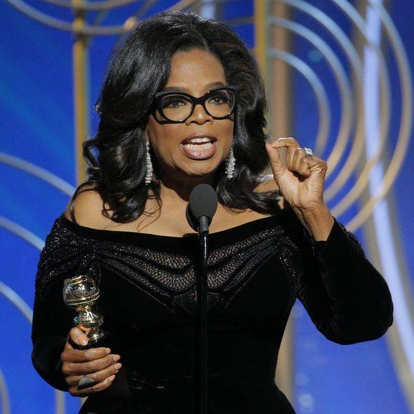 Oprah Winfrey's Golden Globes 2018 Speech Was the Speech to End All Awards Show Speeches