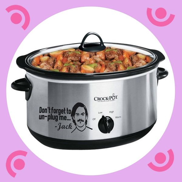 This New Slow Cooker Decal Will Make You Never Forget Jack… Or to Unplug Your Crock-Pot