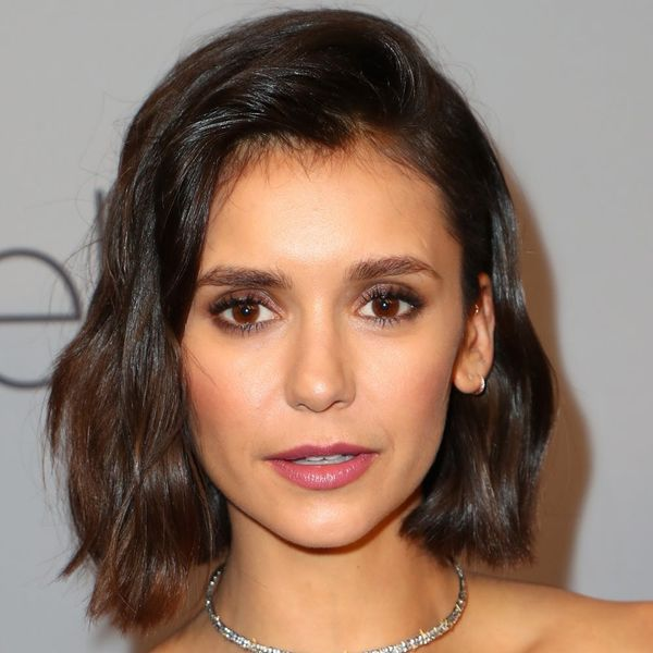 Nina Dobrev Is COMPLETELY Unrecognizable With a Short Blonde Wig and Wrinkles