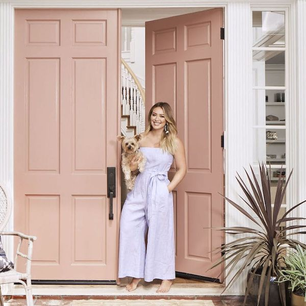 Hilary Duff's LA Home Is *All* About Those Patterns