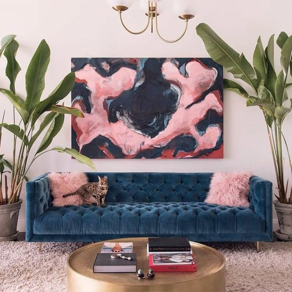 9 Living Rooms You'll Fall in Love With on Instagram