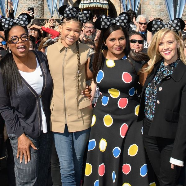 The Cast of 'A Wrinkle in Time' Surprised Fans at Disneyland
