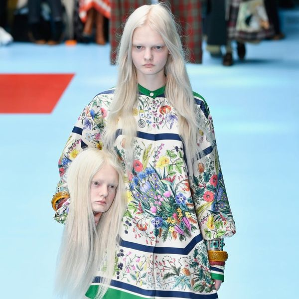 Gucci's Hottest Accessory for Fall 2018 Is a Severed Head