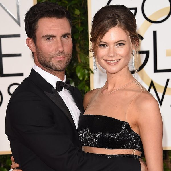 Adam Levine and Behati PrinslooJustShared the First Glimpse of Newborn Daughter Gio Grace