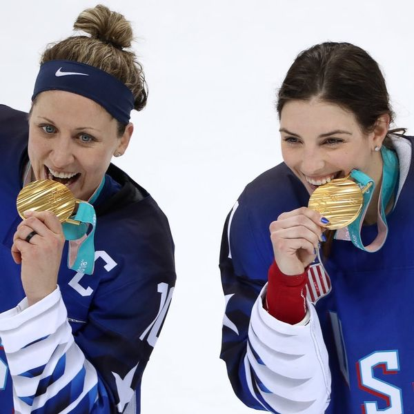 The US Women's Hockey Team Just Won Their First Gold Medal in 20 Years