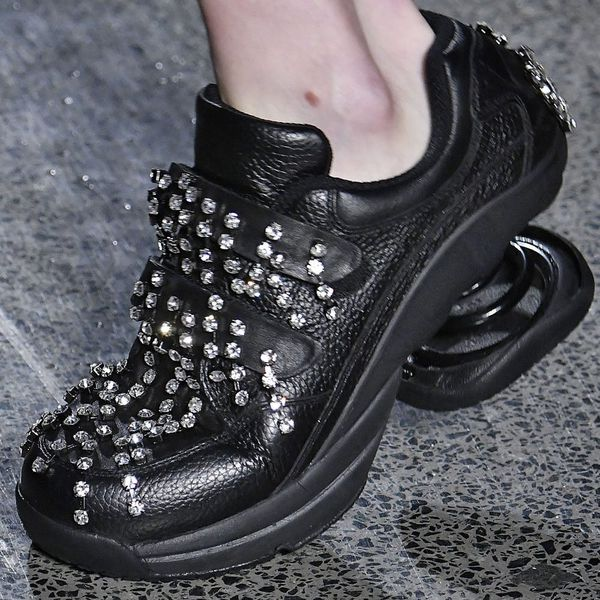 Christopher Kane Just Sent Tricked-Out Orthopedic Shoes Down the Runway