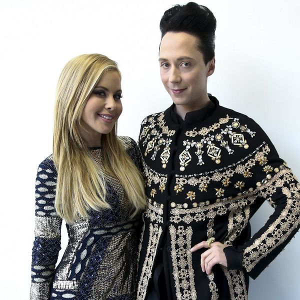 Tara Lipinski and Johnny Weir Needed 21 Suitcases for Their Olympic Outfits