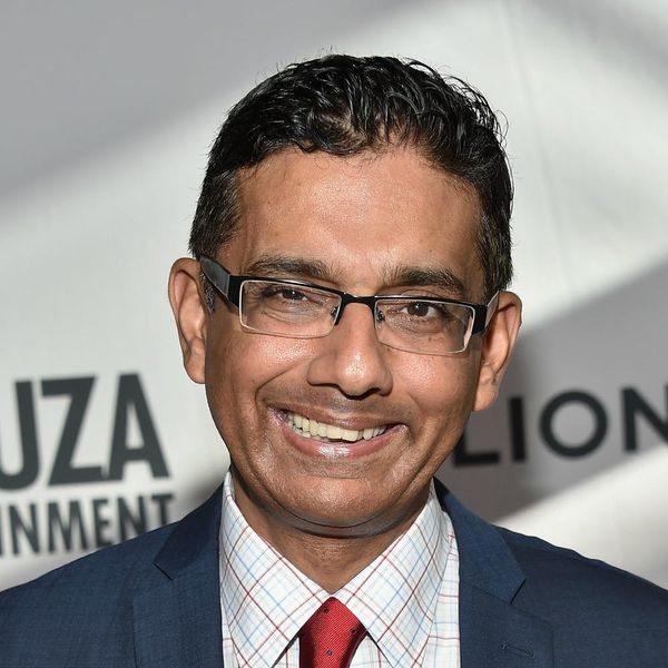 Conservative Author Dinesh D'Souza Is Trolling Parkland Shooting Victims