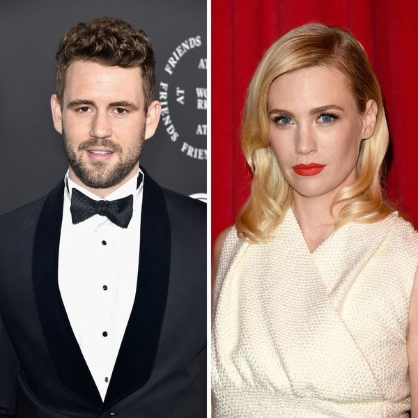 Here's What January Jones Had to Say About Those Nick Viall Dating Rumors