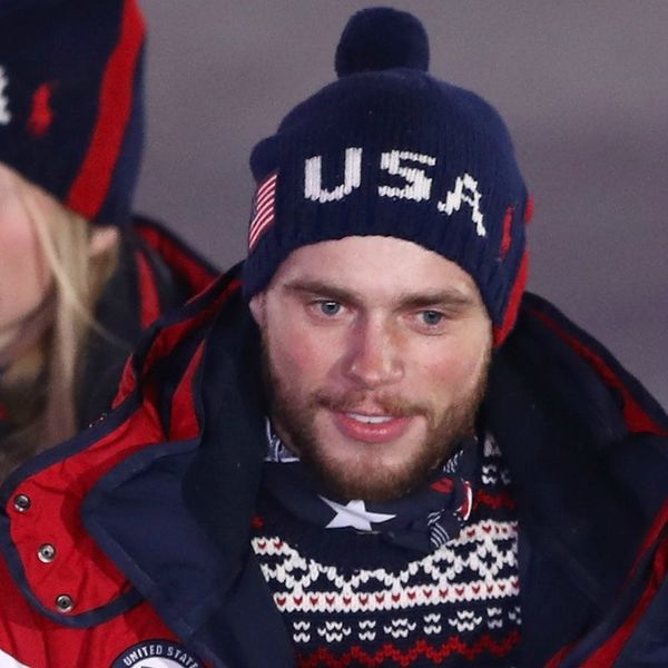 Olympic Skier Gus Kenworthy's TV Kiss Was a Bigger Deal Than You Might Think