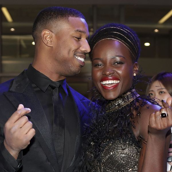 Black Panther's Michael B. Jordan Lost a Push-Up Bet to Costar Lupita Nyong'o