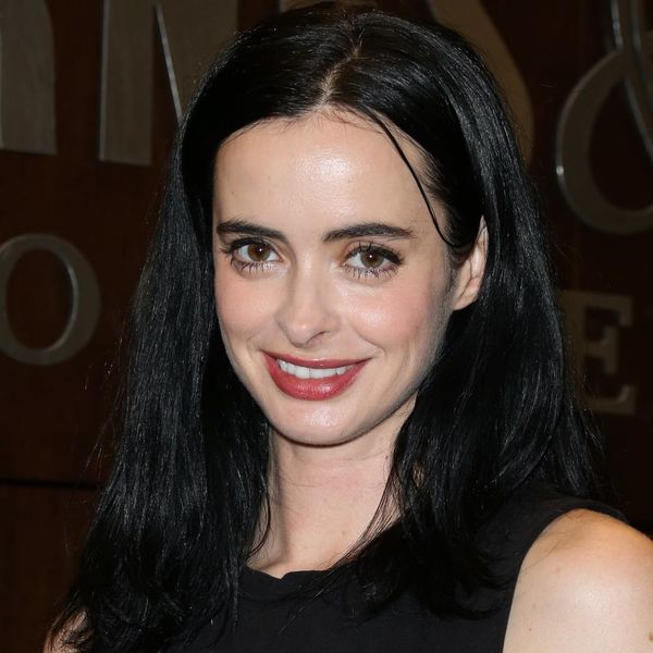 Krysten Ritter Has Returned to Her Signature Fringe and All Is Right in the World Once More