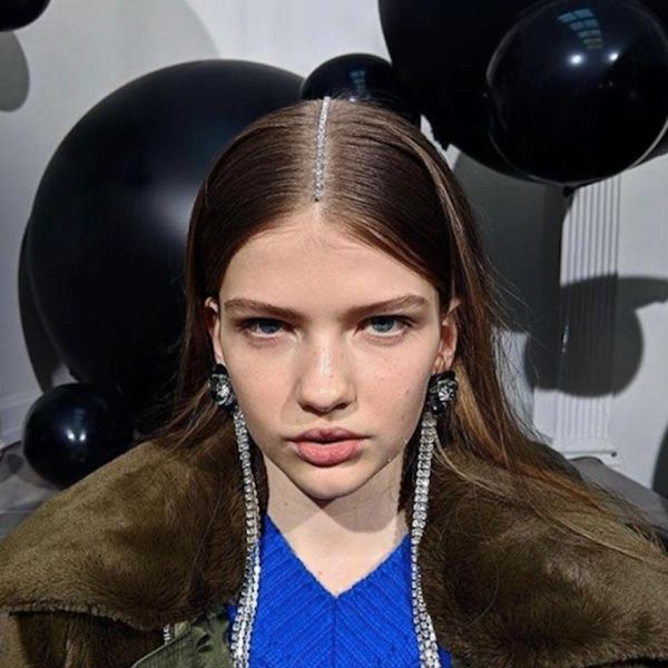 Markus Lupfer Just Debuted *the* Most Extra Hairstyles on the Runway in London