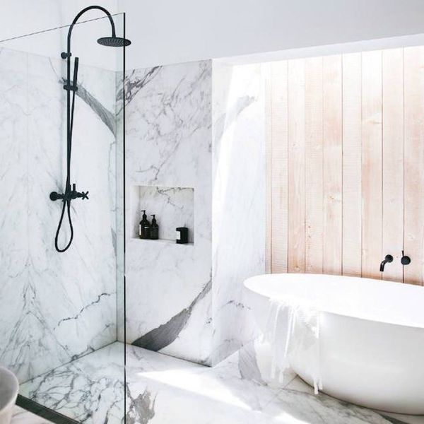 Bring Your Vacay Home With These Spa-Inspired Bathrooms