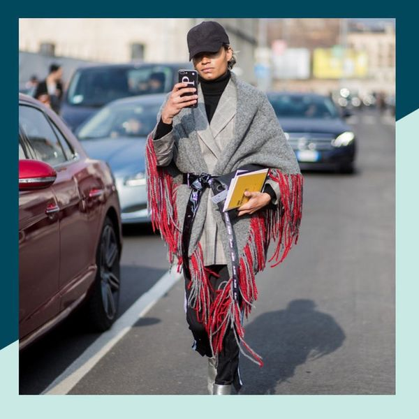7 Fashion Girl-Approved Ways to Wear a Blanket Scarf