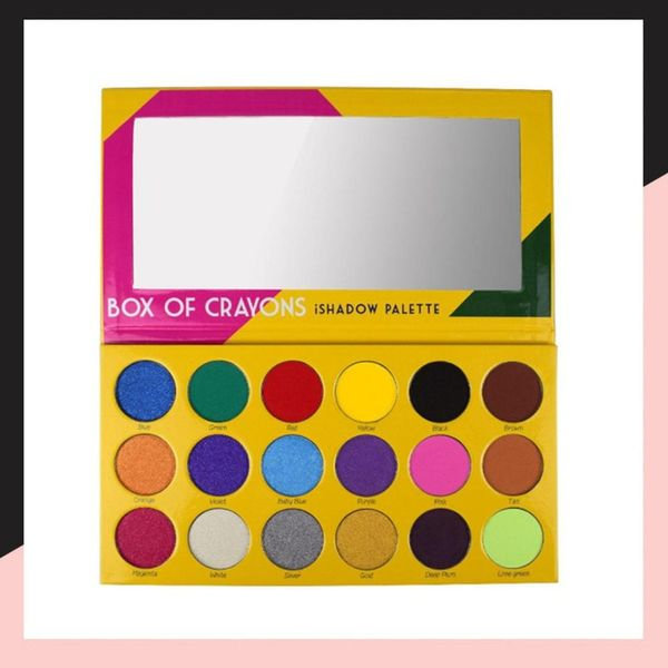 OMG Why Don't We Already Have This Crayon Box Eye Shadow Palette?