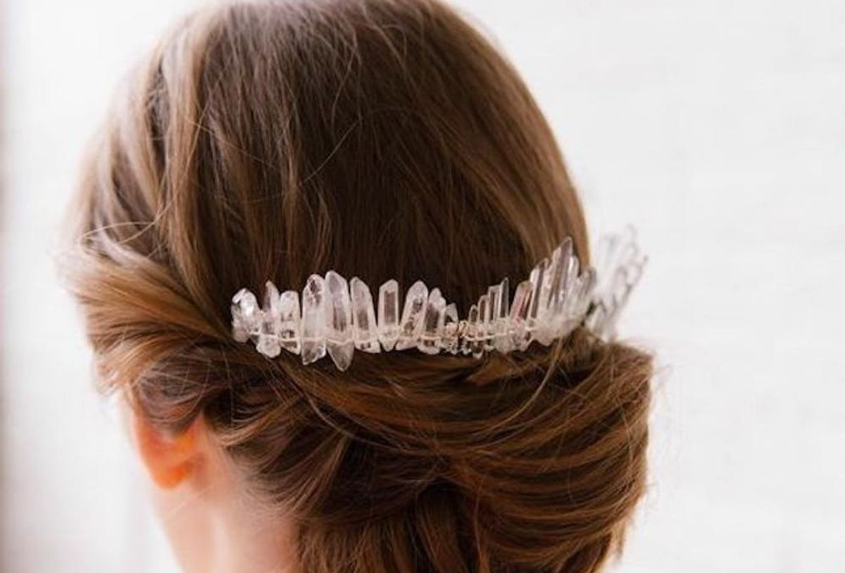 33 Bridal Bun Hairstyle Ideas For Your Wedding Day Brit Co