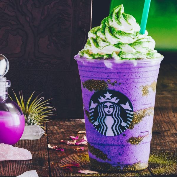 Do You Dare Drink the New Starbucks Witch's Brew Frappuccino This Halloween?