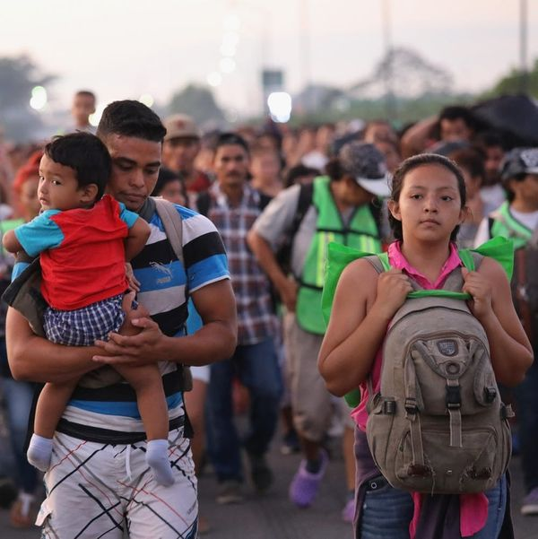 Stop Saying 'Migrant Caravan': They're Asylum Seekers Escaping a Conflict That the US Created