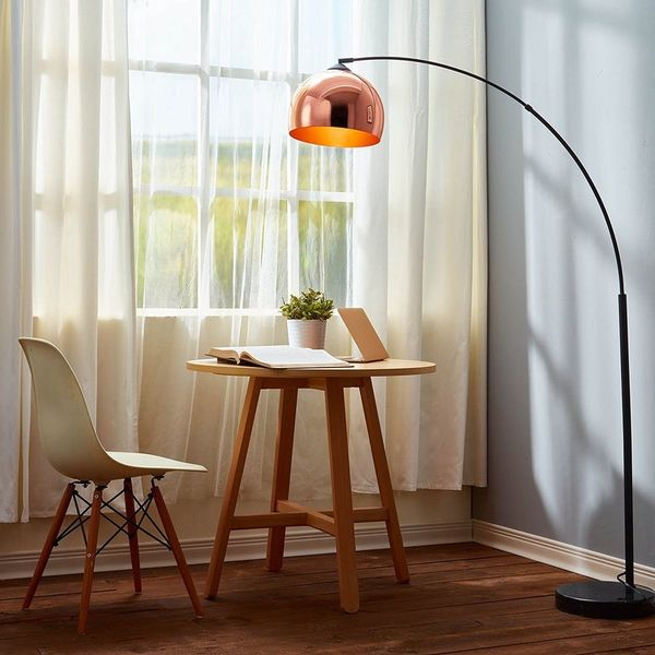 12 Stylish Floor Lamps You Can Buy on Amazon Right Now