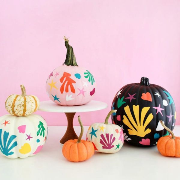 12 Painted Pumpkin Ideas for All Those Leftover Gourds