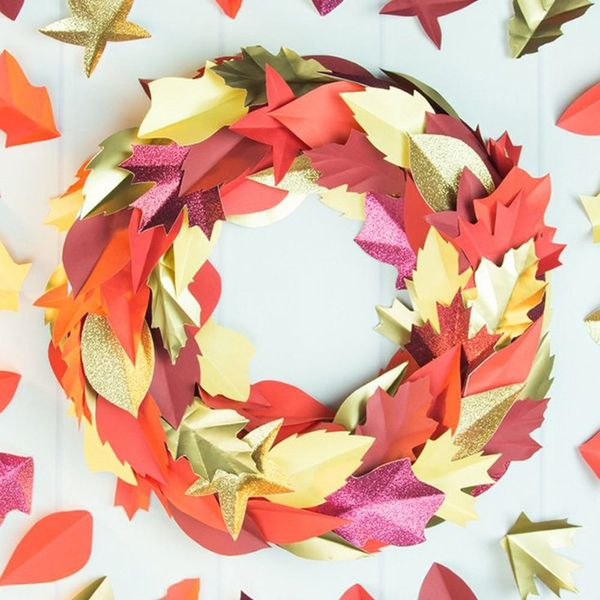 Fall Wreaths, Easy Stylish Storage, and More Weekend Craft Projects