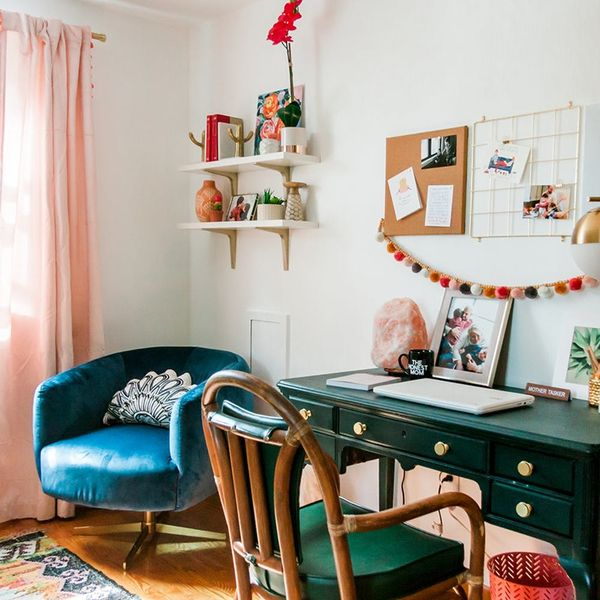This Tiny-Space Makeover Is Multi-Purpose Room #Goals