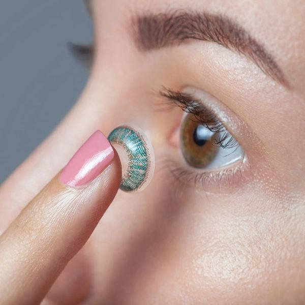 The Scary Truth Behind Halloween's Ever-Popular Colorful Contacts