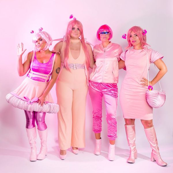 Celebrate Halloween 2017 With This Futuristic Millennial Pink Group Costume