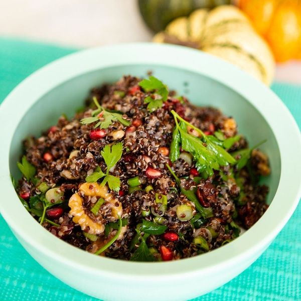 This Healthy, Fall Quinoa Salad Recipe Will Fuel You Through the Holiday Season