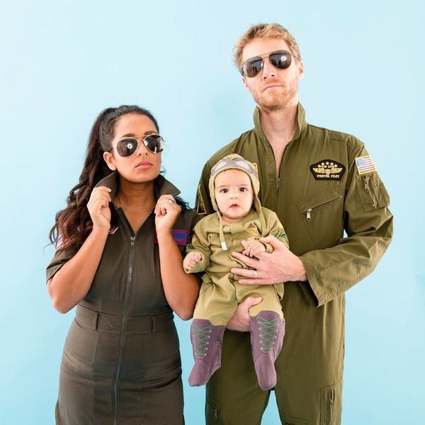 Fly High With This 'Top Gun' Family Halloween Costume