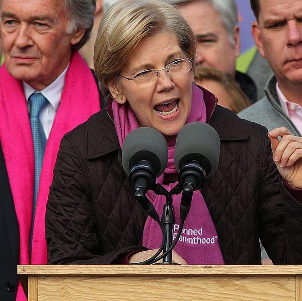 Watch the Chilling Moment When Republican Senators Silenced Elizabeth Warren