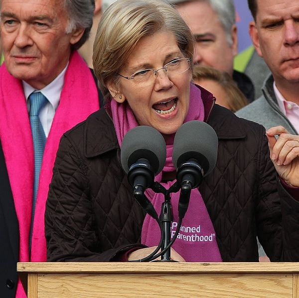 Watch the Chilling Moment When Republican Senators Silenced Elizabeth Warren