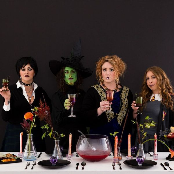 How to DIY a Spooky, Witch-Approved Dinner Party for Halloween