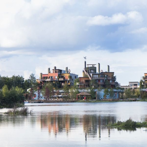 A Gorgeous Eco-Resort Just Opened at Disneyland Paris