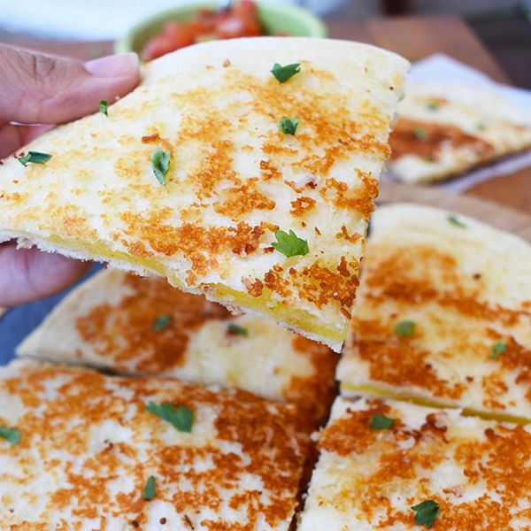This Easy, Cheesy Recipe Hack Will Forever Improve Your Quesadillas