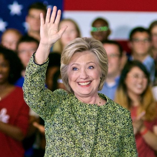 Hillary Clinton Made Her First Public Appearance Since the Election and It Was All About Hope