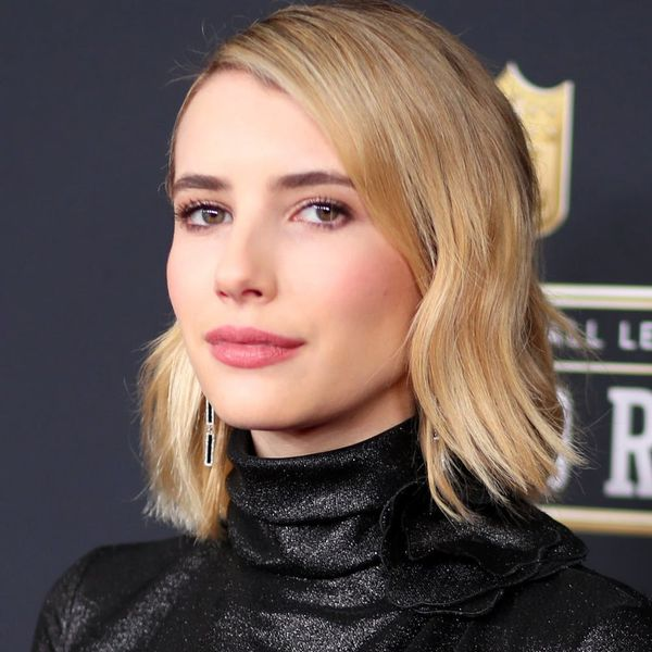 See Emma Roberts With a Pastel Pink 'Do