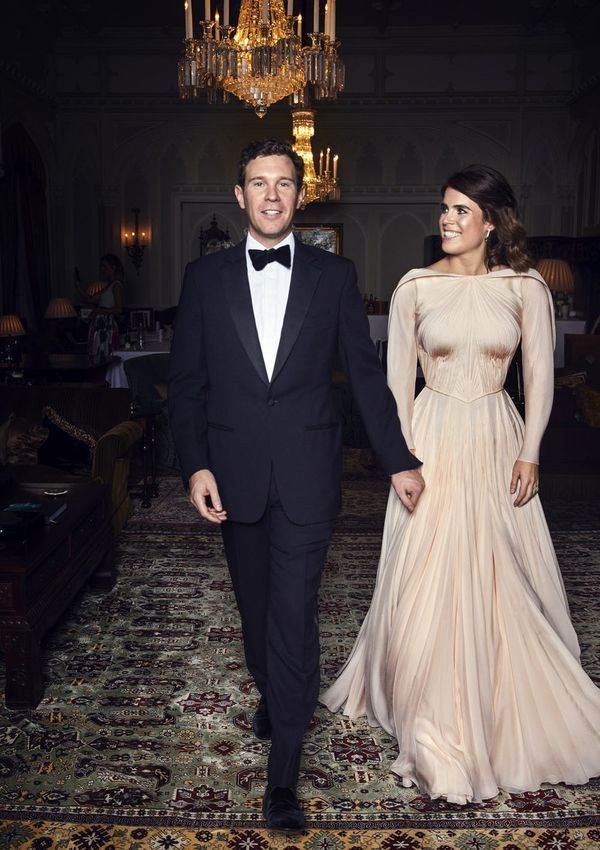 Princess Eugenie's Wedding Reception Dress Was a Showstopper