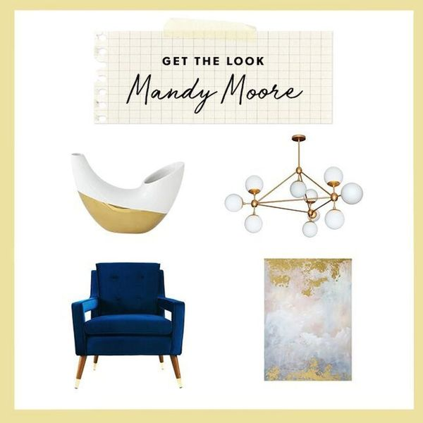 Get the Look of Mandy Moore's Mid-Century Modern Home