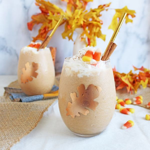 This Boo-zy, Vegan Pumpkin Spice Frappuccino Recipe Will Spook Your Tastebuds