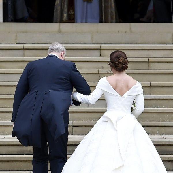 Princess Eugenie's Wedding Dress Was Designed to Show off Her Scar