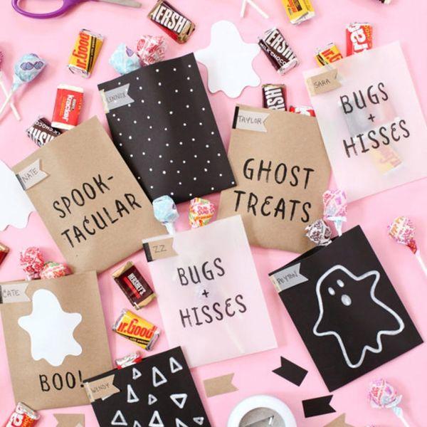 Candy Corn Flamingos, Painted Pumpkins, More DIY Halloween Party Essentials