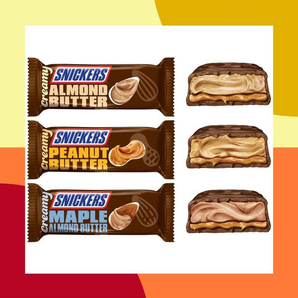 "Snickers Goes Smooth With Its New ""Creamy"" Bars Filled With Nut Butters"